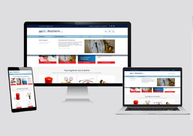 Onlineshop Erstellung RESPONSE