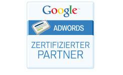 Logo Zertifizierter Google Adwords Partner