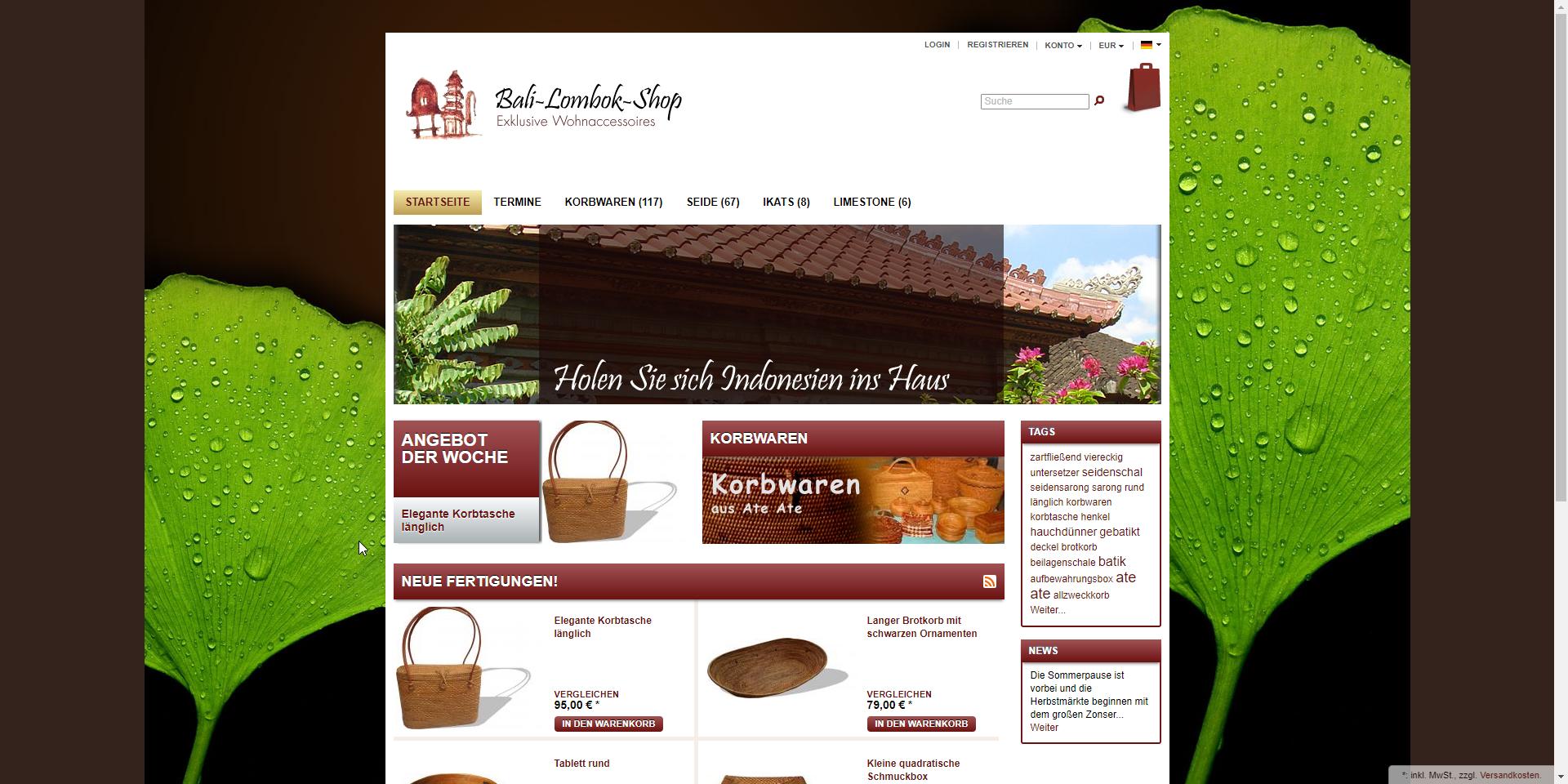 Bali Lombok Shop