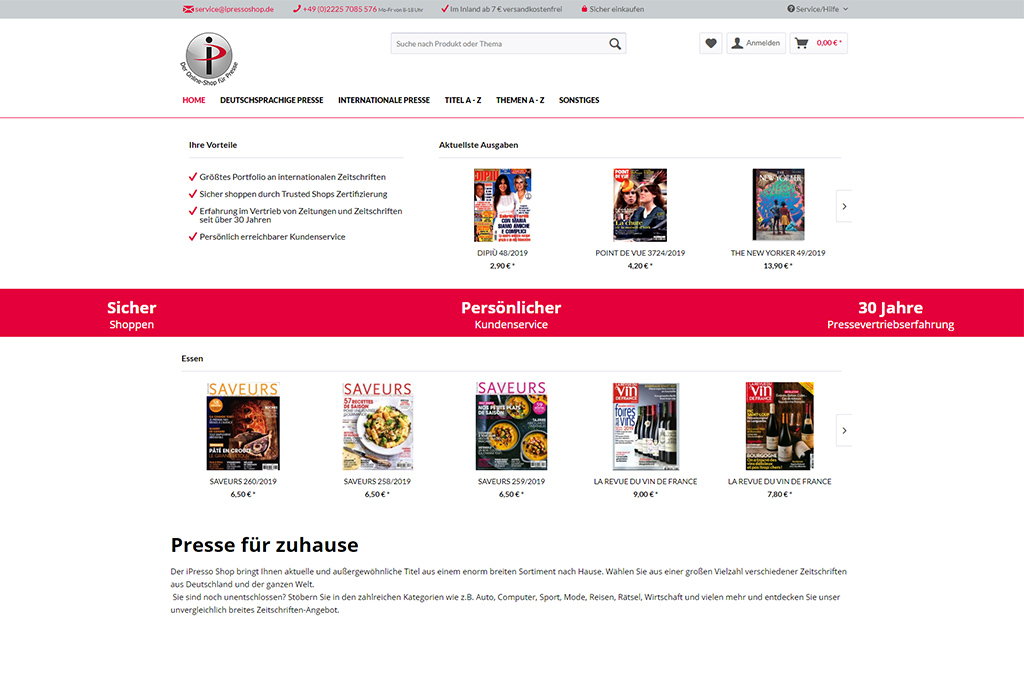 iPresso Shop