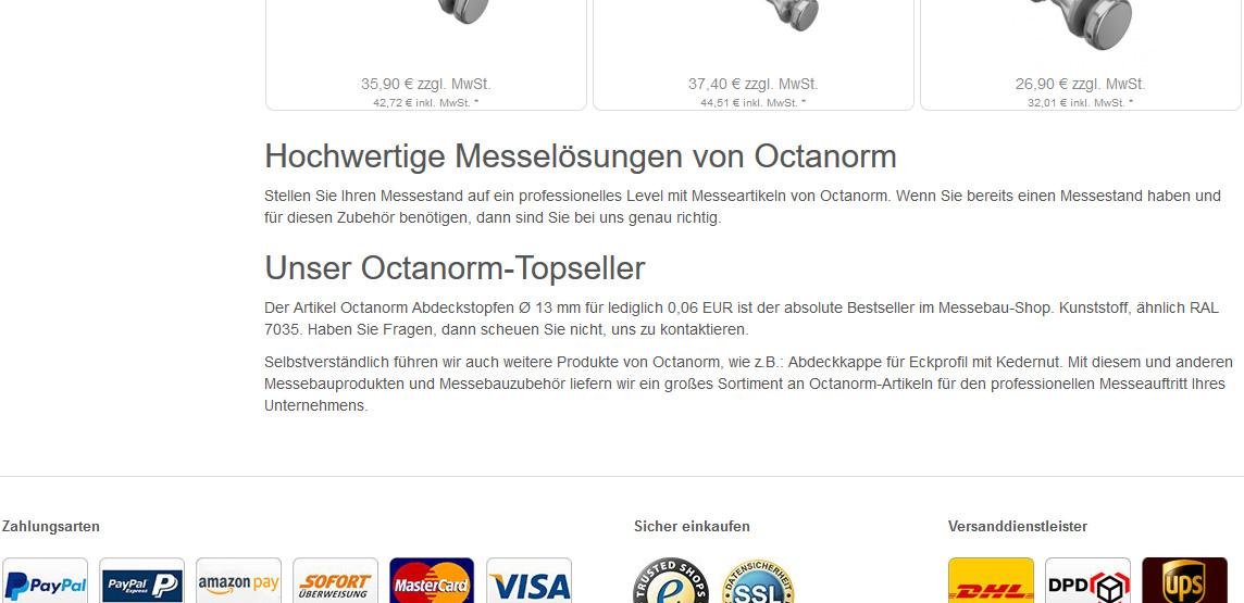 OXID RESPONSEO Hersteller