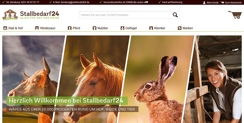Stallbedarf24