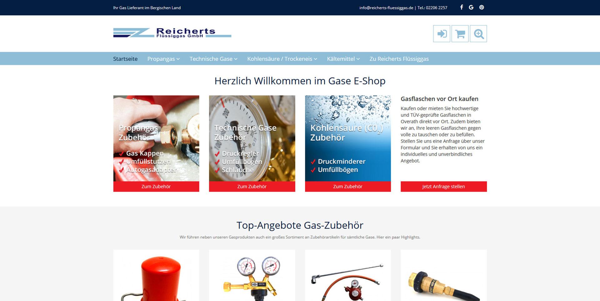 Reicherts Flüssiggas Shop