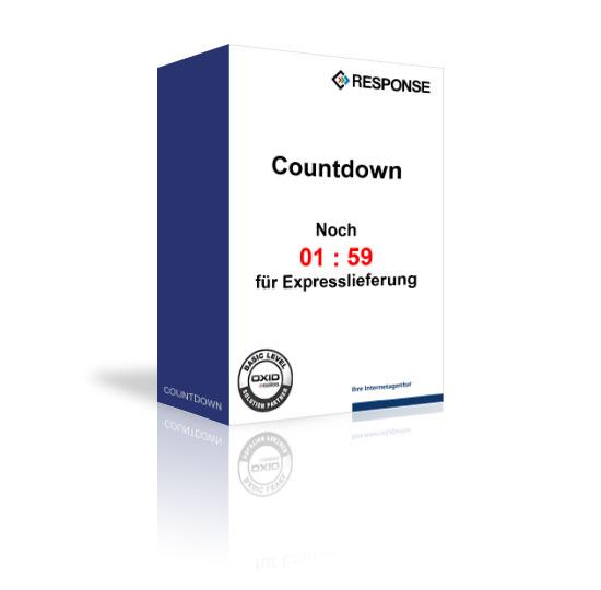OXID Countdown für die Expresslieferung