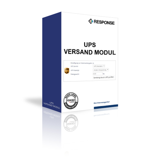 OXID UPS Modul