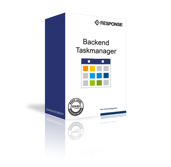 OXID Backend Taskmanager