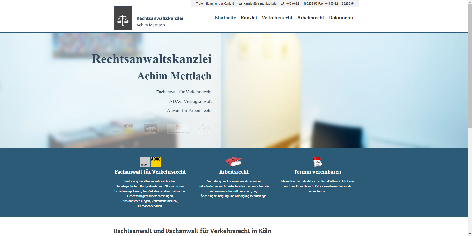 Rechtsanwalt Achim Mettlach