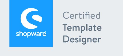 Shopware - Cetrified Template Designer - Shopware Agentur Köln